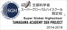 Tamagawa Academy Super Global High School Project