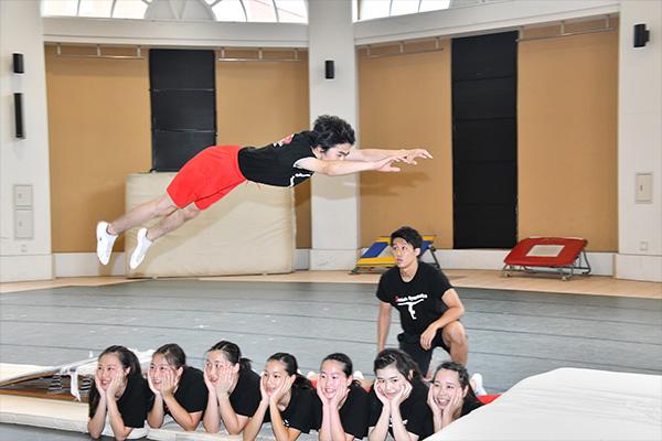 科学するTAMAGAWA 大学・K-12 デンマーク体操部