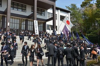 玉川 大学 入学 式 2020